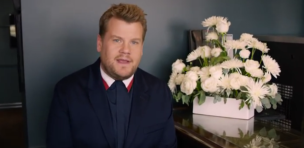 James Corden is the latest star to appear on Vogue's 73 Questions / Pic: YouTube