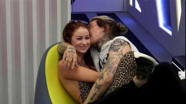 Laura Carter and Marco Pierre White Jr / Big Brother