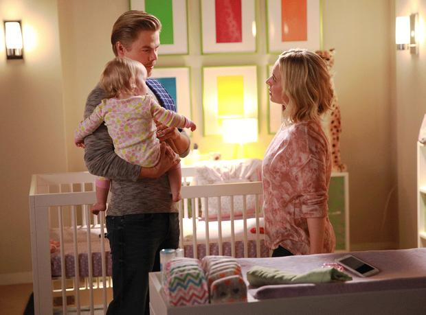 Derek Hough and Hayden Panettiere in a scene from Nashville