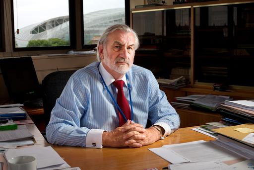Kieran Mulvey, Director General of the Workplace Relations Commission, in his office on Haddington Road, Dublin. Photo: Tony Gavin