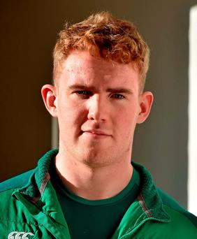 Ireland U20's Cillian Gallagher. Photo: Brendan Moran / Sportsfile