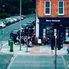 Dozens of first-time buyers queued from dawn to snap up a new home in Wicklow yesterday