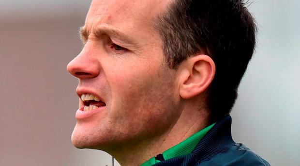 Meath manager Mick O'Dowd. Photo: Ramsey Cardy / Sportsfile