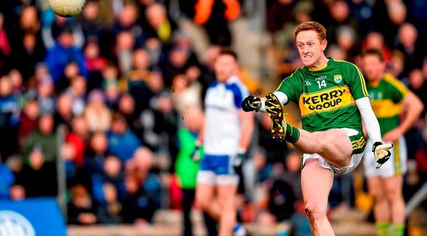 Colm Cooper has damaged ligaments in his shoulder