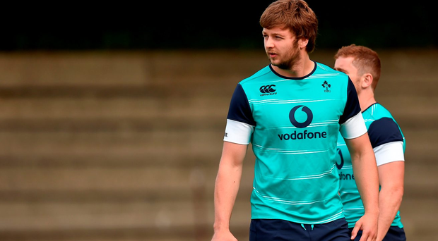 Iain Henderson during squad training in Westerford High School, Cape Town, South Africa Photo by Brendan Moran/Sportsfile