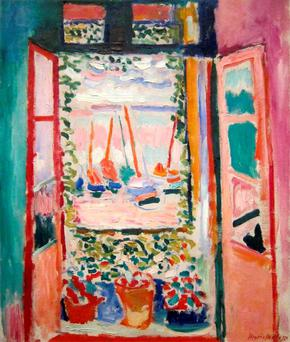 Open Window by Henri Matisse.