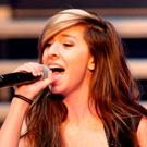"""Christina Grimmie performs as part of """"The Voice Tour"""" at Cobb Energy Centre, in Atlanta."""