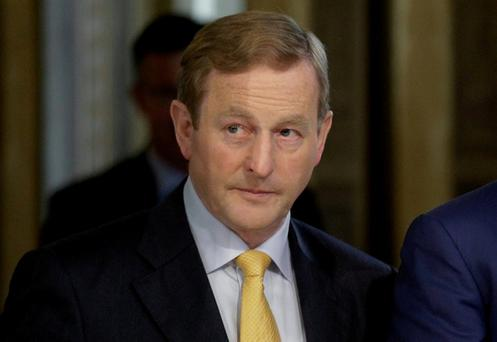 Enda Kenny: 'This is something that is so traumatic and sensitive and personal for some people and families ... It has divided Irish society for a long time. I myself have struggled with this. It's a profound issue' Photo: Reuters