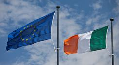 'The Europe-wide poll, meanwhile, has found between 62pc and 65pc of people in each other country polled opposed Brexit, rising to 70pc in Ireland.' Stock photo: Getty