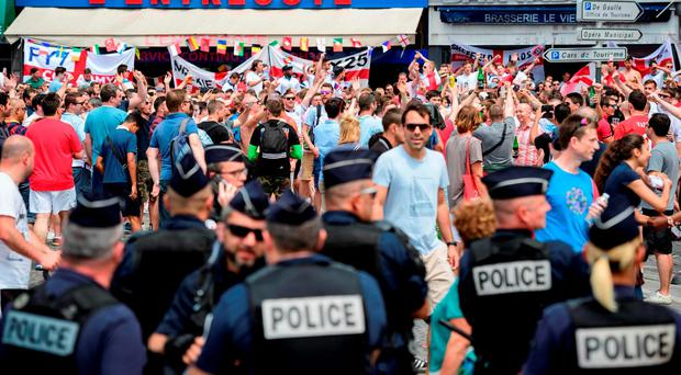 England fans have been warned by UEFA