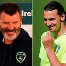 Zlatan had praise for Roy Keane