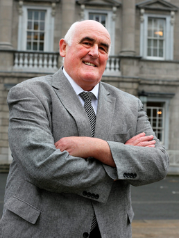 Senator Billy Lawless: 'Some of Trump's remarks are crazy'. Photo: Tom Burke