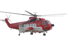 File picture of Coastguard helicopter