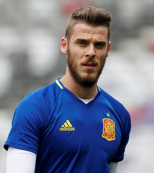 De Gea denied any wrongdoing when speaking to the media last week and has assured his manager that the charges are groundless. Photo: REUTERS/Vincent Kessler