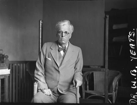 W.B. Yeats. Scanned from the NPA collection
