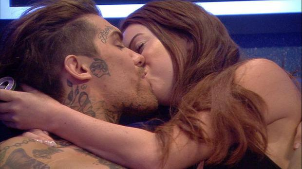 Big Brother contestants have no qualms about getting steamy on air