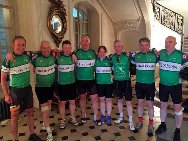 John Hannin, Gerard Moore and Suzanne Gaine from Investec joined Martin Phelan, Ivor Banim and Leo Moore of William Fry Solicitors along with Billy Glennon from Vision and solicitor Cahir O'Higgins