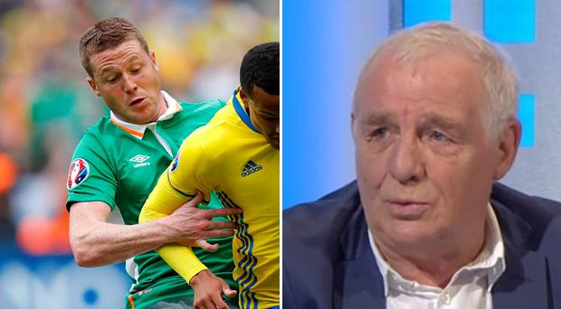 James McCarthy's display against Sweden did not impress Eamon Dunphy