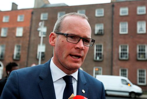Minister Simon Coveney .Pic Tom Burke