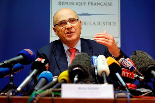 French prosecutor of Marseille Brice Robin speaks during a news conference following the fan violence in Marseille. REUTERS/Jean-Paul Pelissier