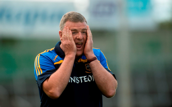 Tipperary manager Liam Kearns. Photo by Piaras Ó Mídheach/Sportsfile
