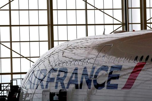 A quarter of Air France pilots went on strike and the airline said this led to the cancellation of 20pc of its flights. REUTERS/Philippe Wojazer