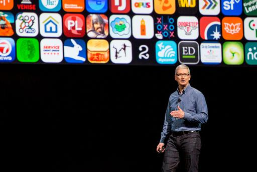 Tim Cook (Photo by Andrew Burton/Getty Images)