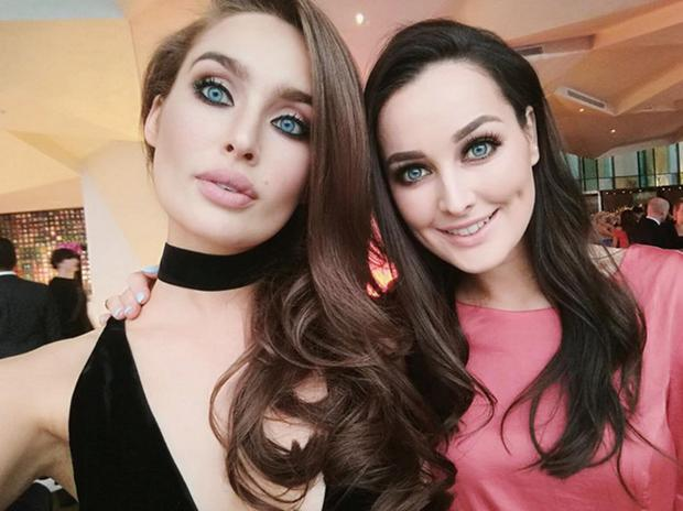 Roz Purcell and her sister Rachel. Picture: Instagram