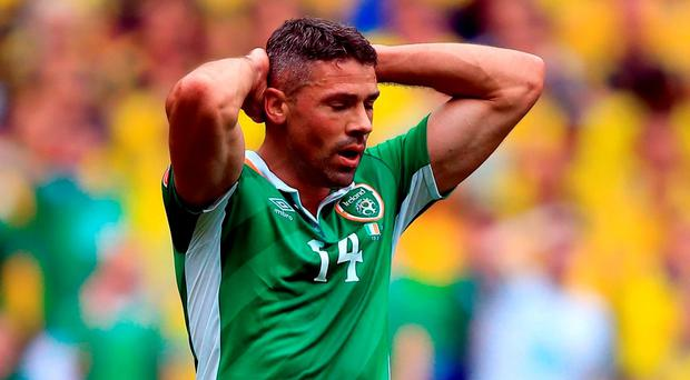 Republic of Ireland's Jonathan Walters is a serious doubt for the remainder of Ireland's Euro 2016 campaign