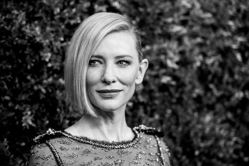 Actress Cate Blanchett on acting: 'I am constantly dissatisfied. It's why I keep doing it'.