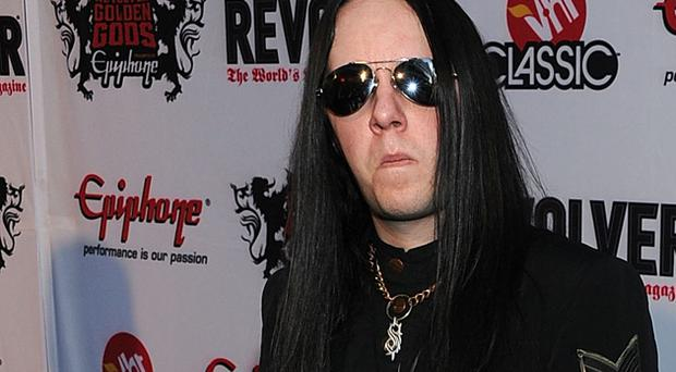 Ex-Slipknot Joey Jordison has revealed he has been battling a form of MS. Photo: Getty