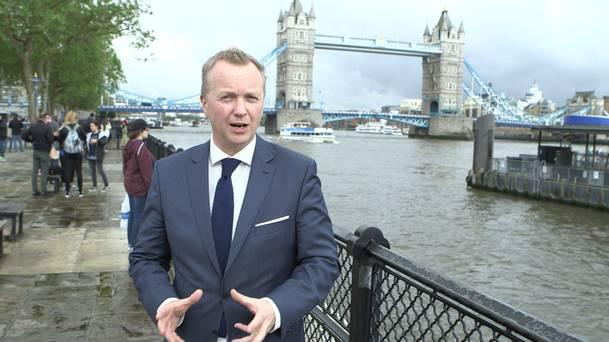 Matt Cooper is pictured for TV3's Brexit special
