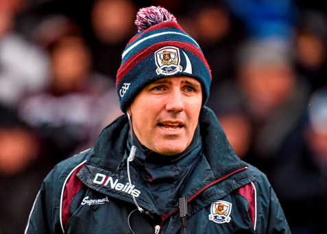 "Walsh; ""It's not ideal but we'll have to make it work."" Picture credit: Cody Glenn / SPORTSFILE"
