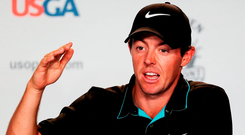 World number three McIlroy annually approaches the first Major of the season with a sense of excitement, but this week the feeling is 'trepidation.' Photo: David Cannon/Getty Images