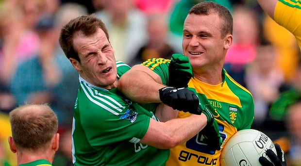 Neil McGee of Donegal is back to face Tyrone