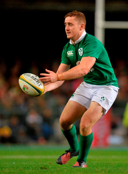 Paddy Jackson will continue to prosper in the Ireland No 10 jersey, according to his Ulster team-mate Jared Payne. Photo by Brendan Moran/Sportsfile