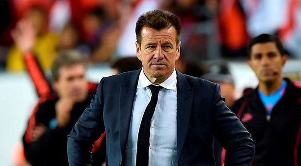 Dunga was sacked on June 14, 2016, two days after Brazil's national football team lost to Peru. Photo: Hector Retamal/Getty Images