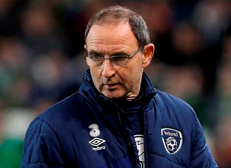Martin O'Neill: apologised for 'inappropriate comments'. Photo: PA