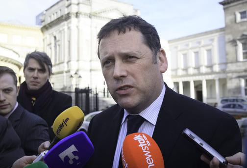 Fianna Fáil housing spokesman, Barry Cowen, accused Sinn Féin of blatant opportunism. Collins