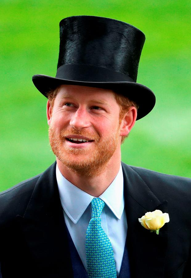 Prince Harry in the parade ring at Royal Ascot 2016 at Ascot Racecourse on June 14, 2016 in Ascot, England. (Photo by Chris Jackson/Getty Images)