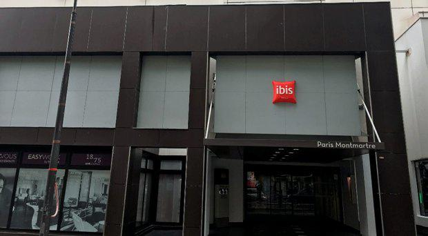 The Ibis hotel in Montmarte