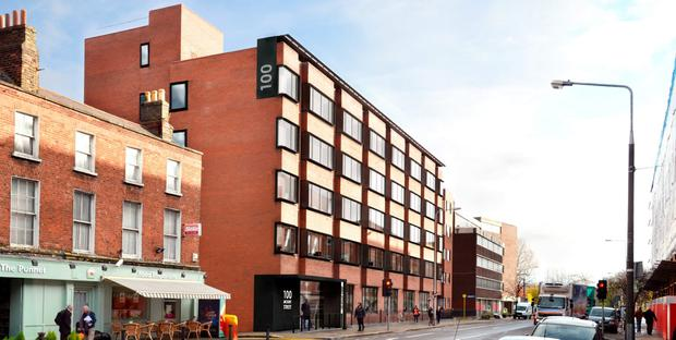 Office space is available at Lower Mount Street in Dublin 2.