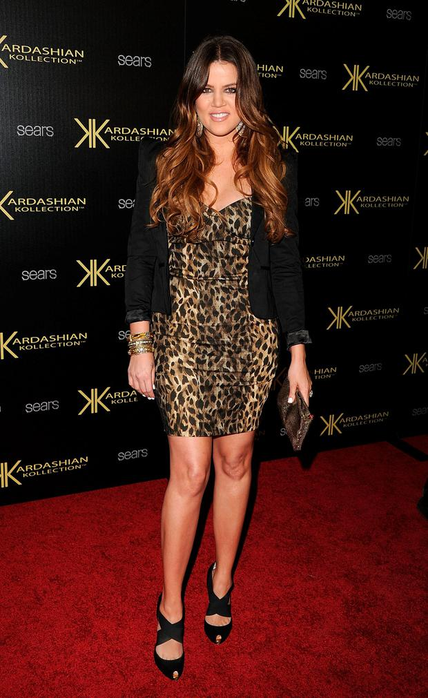 Khloe Kardashian attends the Kardashian Kollection Launch Party at The Colony on August 17, 2011 in Hollywood, California. (Photo by Jason Merritt/Getty Images)