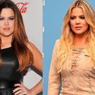 Khloe Kardashian, left, in 2011 and right, in 2016