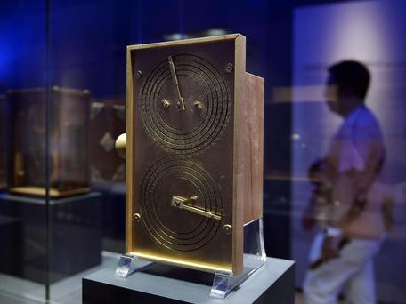 The Antikythera Mechanism (reconstruction) AFP/Getty Images