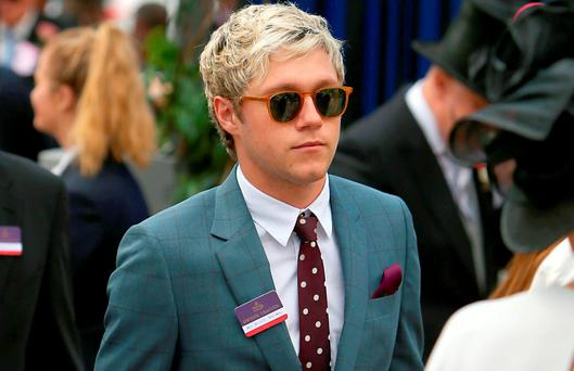 Niall Horan during day two of Royal Ascot 2016, at Ascot Racecourse