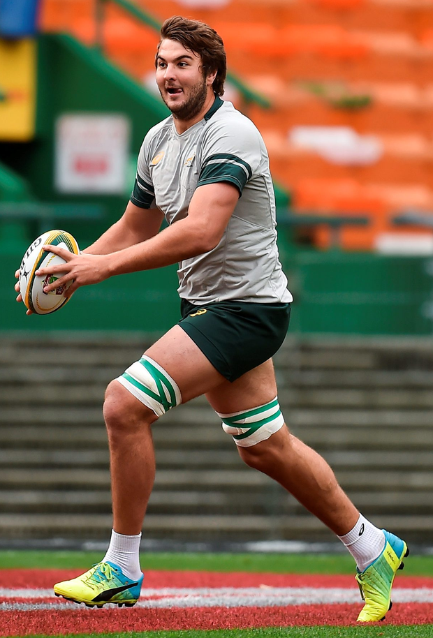 Lood de Jager of South Africa. Photo: Brendan Moran/Sportsfile