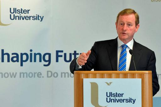 A Brexit will undermine our competitiveness and do 'serious damage' to Irish businesses, according to Enda Kenny. Photo: Simon Graham/PA Wire