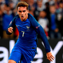 France's forward Antoine Griezmann celebrates a goal during the Euro 2016 group A football match between France and Albania at the Velodrome stadium in Marseille on June 15, 2016. / AFP PHOTO / FRANCK FIFEFRANCK FIFE/AFP/Getty Images
