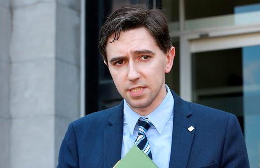 Health Minister Simon Harris. Picture Credit : Frank Mc Grath